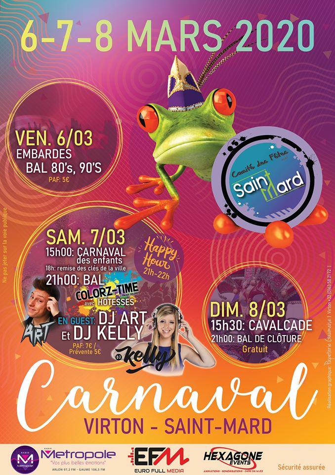 Carnaval de Virton/Saint-Mard @ Virton | Wallonie | Belgique